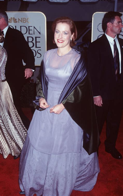 Gillian Anderson, 1999 - This Is What The Golden Globes