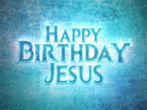Frosted Happy Birthday Jesus | Life Scribe Media | Motion