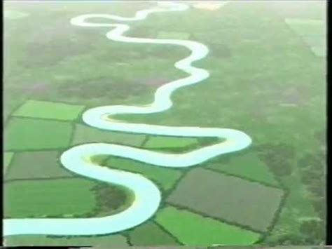 Meanders and Oxbow Lakes - YouTube