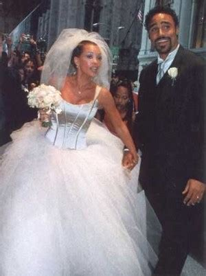 Vanessa And Rick Fox On Their Wedding Day Back In 1999