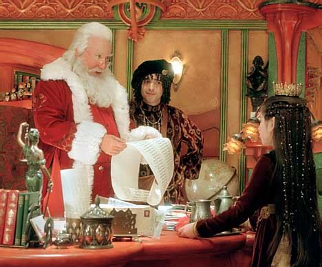 Allen all over map in 'Santa Clause 2' - SFGate