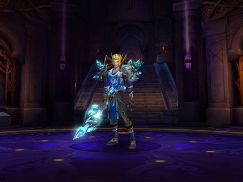 My attempt at matching the Frost Mage Challenge Appearance