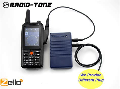 Radio Over Zello Controller + RT3 Android Smart Phone