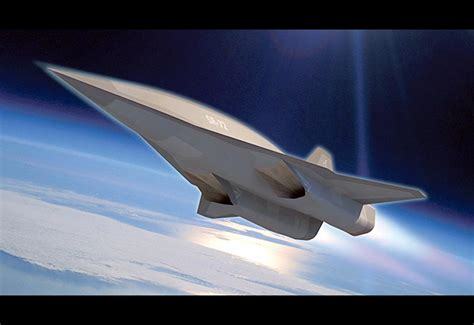 Lockheed SR-72 Hypersonic Unmanned Reconnaissance Aircraft