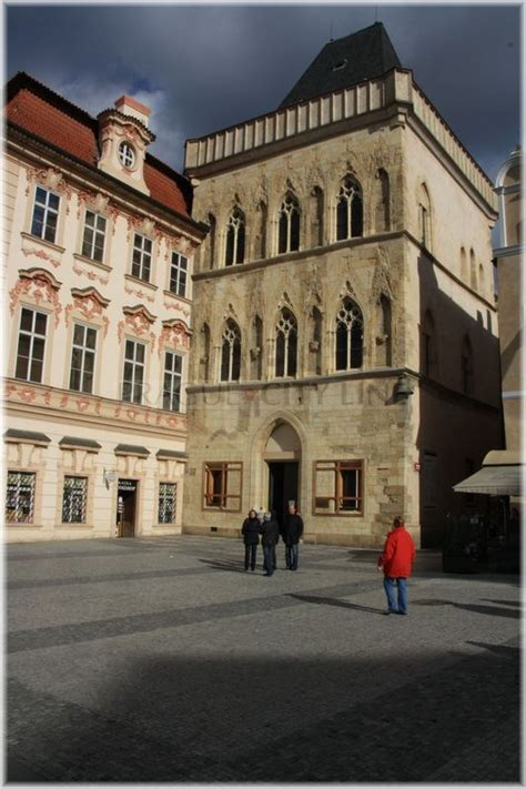 Prague City Line » House at the Stone Bell – basic information