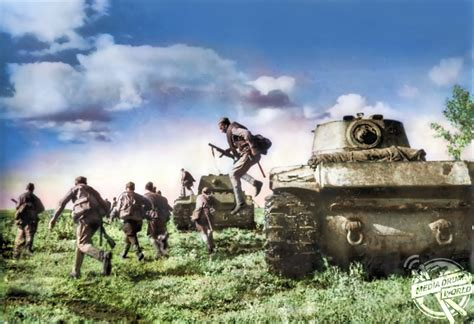 Newly Released Colourised Images Alongside Video Footage