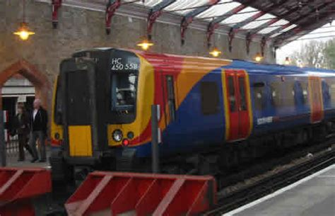 Rail Services Around London Complementing The London