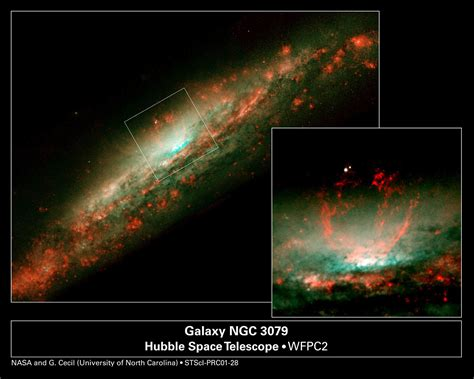 Baby Burp in Galaxy's Core (Overview) | ESA/Hubble