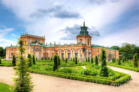 Wilanow Palace in Warsaw Poland Photograph by Michal Bednarek