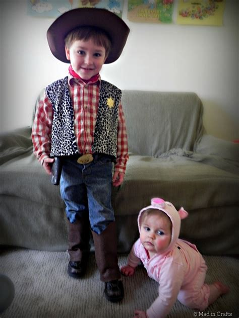 DIY Toy Story Costumes on a Budget - Mad in Crafts