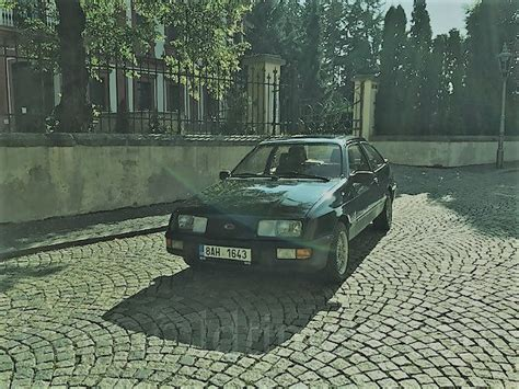 Ford Sierra coupe, 2