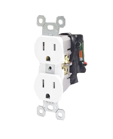 Bush Baby Hardwired Wifi Receptacle Outlet With 1080P HD