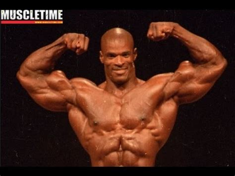 Ronnie Coleman was NATURAL at his first Mr