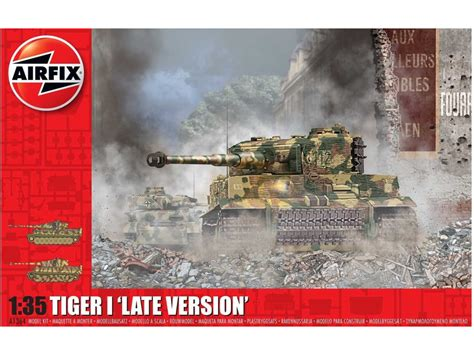 Airfix Tiger-1 Late Version (1:35) (AF-A1364)   Astra