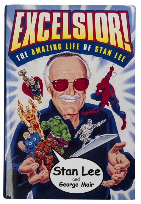 Lot Detail - Stan Lee Lot of (9) Signed Items (5 Comic