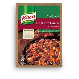 Mix voor Chili Con Carne   Knorr   Knorr