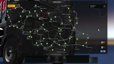 ROMANIA EXTENDED MAP 0