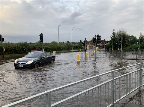 Video and Pictures: Flooding on Loughborough Road in West
