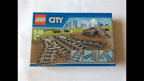 """Lego 7895 """"Switching Tracks"""" Unboxing and Review - YouTube"""