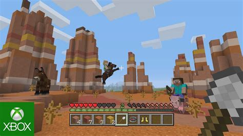 Minecraft Update for Xbox 360 and PS3 - Neurogadget