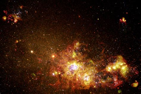 Fireworks of Star Formation Light Up a Galaxy | ESA/Hubble