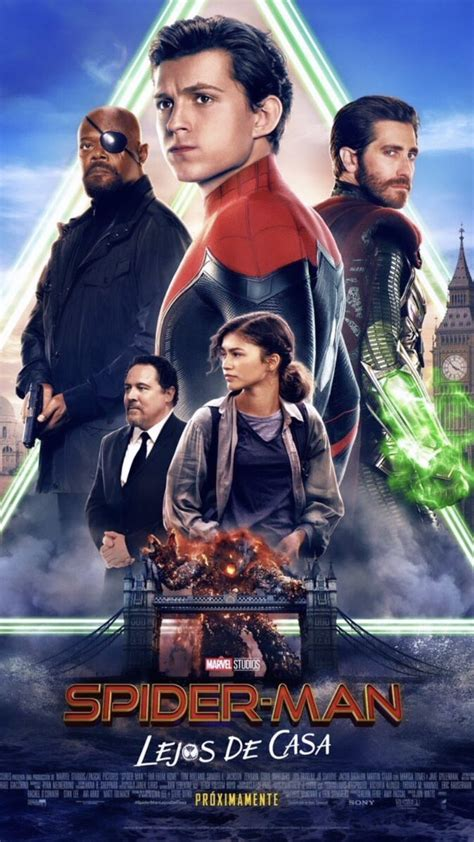Spider-Man International Trailer and Poster Are From From