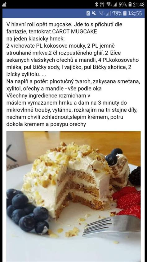 Pin by Lenka Springlová on Keto | Low carb sweets, Food