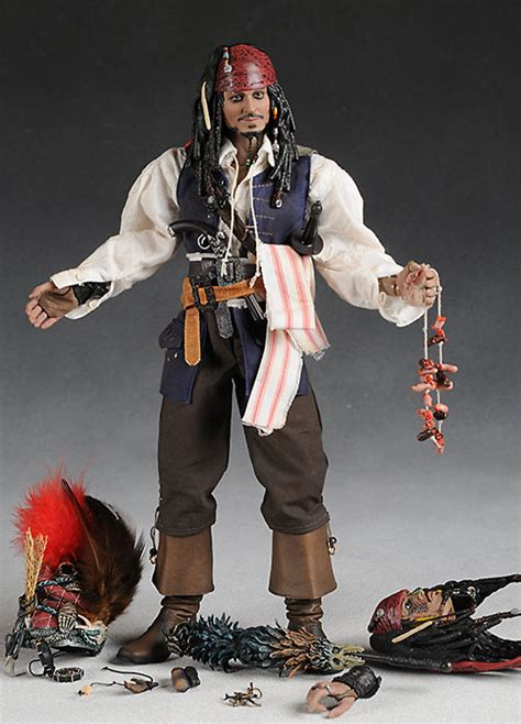 Pirates of the Caribbean Cannibal Jack Sparrow and Davy