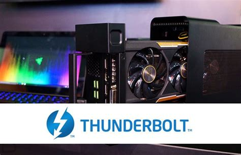 The complete list of portable laptops with a Thunderbolt 3