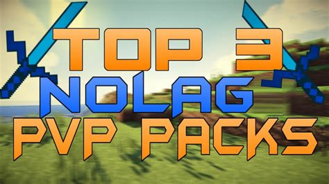 Top 3 Minecraft PvP Texture Packs FPS BOOST/NO LAG/MAX FPS