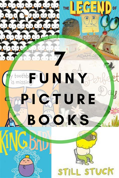 Seven of My Favorite New and Funny Picture Books For Kids