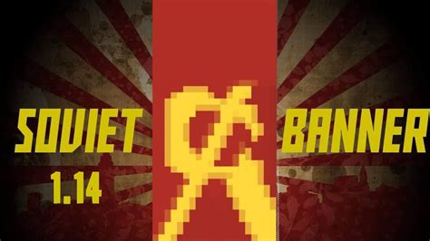 HOW TO CREATE OUR USSR BANNER IN MINECRAFT 1