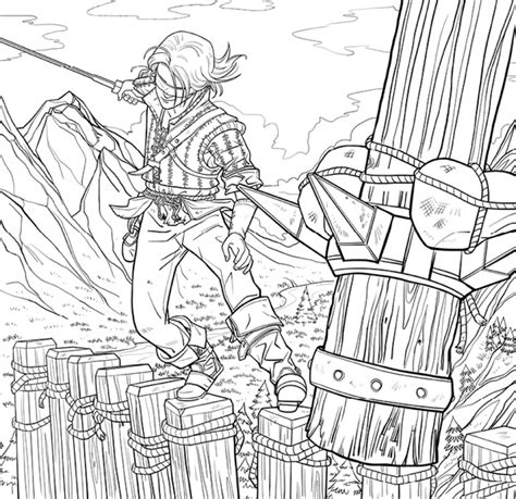 The Witcher Adult Coloring Book TPB :: Profile :: Dark