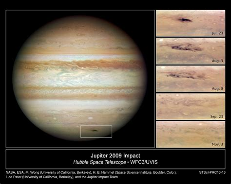 Jupiter impact scar is going, going, gone | ESA/Hubble