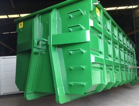 Manufacturer of hooklift containers, waste bins special