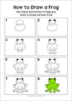 how to draw a frog for kids - Google Search   Kindergarten