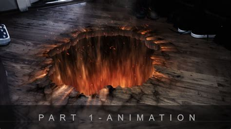 Demonic Portal - After Effects Tutorial (Part 1) - YouTube