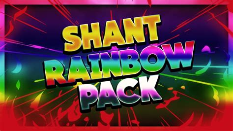 Minecraft PvP Texture Pack - Shant RainBow Pack 16x FPS