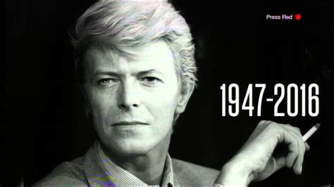 David Bowie   News of his death   BBC Lunchtime News Jan