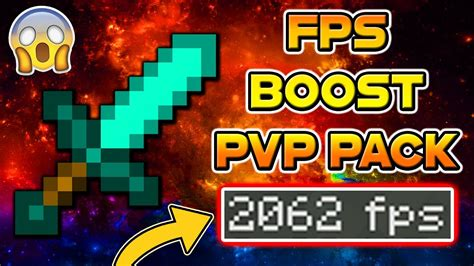 Minecraft PvP Texture Pack - FPS BOOST NO LAG 16X16 EDIT