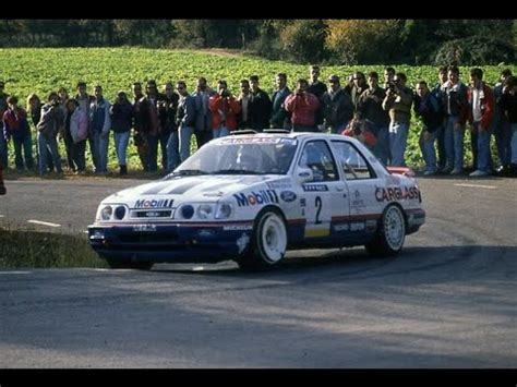 François Delecour & Ford Sierra Cosworth Group A '92 - YouTube