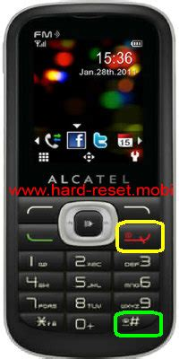 Alcatel One Touch 506D Hard Reset - Hard Reset