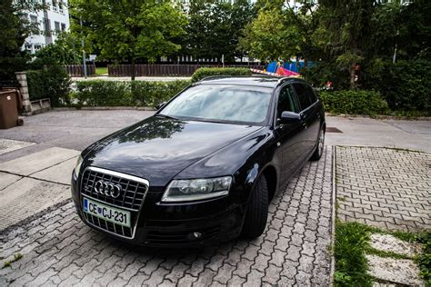Audi A6 C6 from halogen to bi-xenon projector