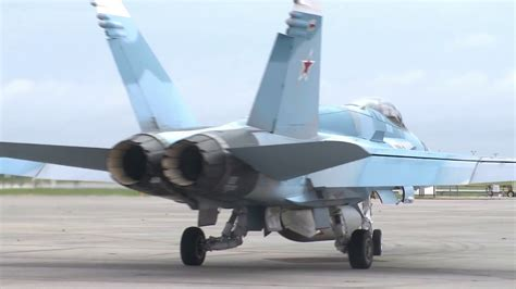 F/A-18 and F-16 Pilots Fly at Top Gun Fighter Training