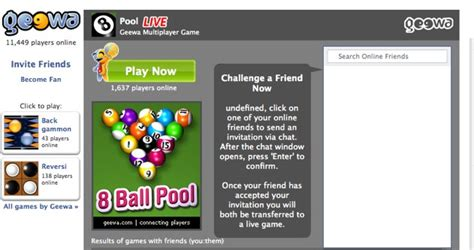 Challenge Your Facebook Friends To A Geewa Game Via Chat