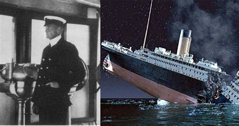 Titanic's Second Officer, Who Survived By Swimming From